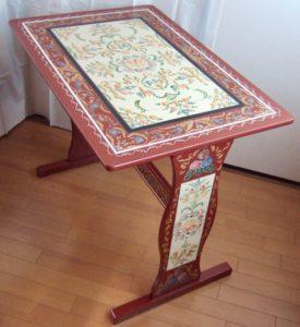 作品3−3(オリエンタルの香り) テーブル