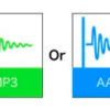 ピュアー音源から見た「MP3、AAC」の音質比較
